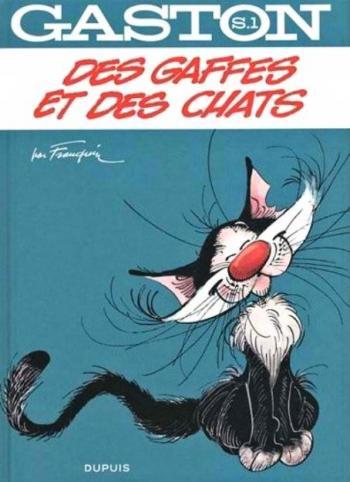 Couverture de l'album Gaston - Hors-série - 1. Des gaffes et des chats