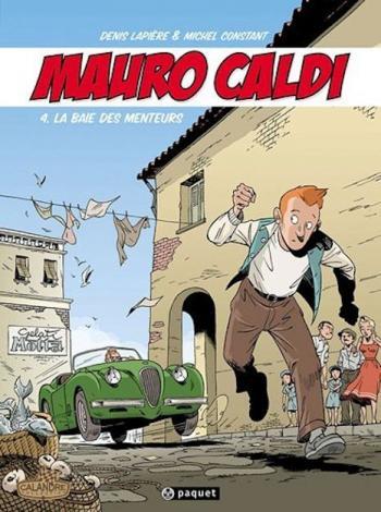 Couverture de l'album Mauro Caldi - 4. La baie des menteurs