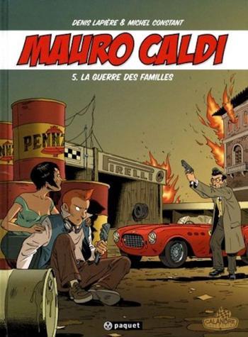 Couverture de l'album Mauro Caldi - 5. La guerre des familles