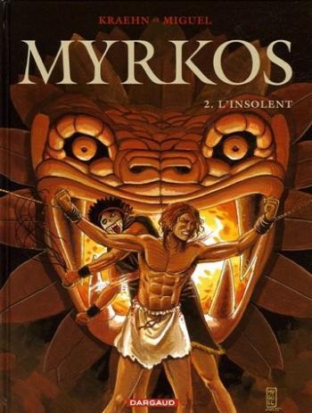 Couverture de l'album Myrkos - 2. L'Insolent