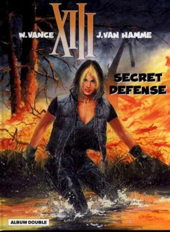 Couverture de l'album XIII (France Loisirs - Album double) - 8. Secret défense / Lachez les chiens