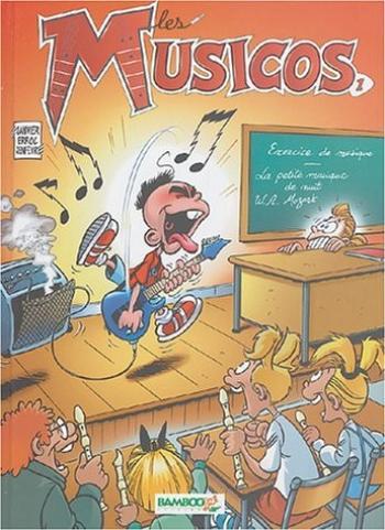 Couverture de l'album Les musicos - 1. Tome 1