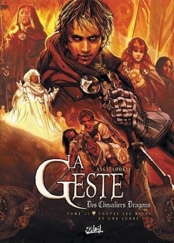 Couverture de l'album La Geste des Chevaliers Dragons - 11. Toutes les mille et une lunes