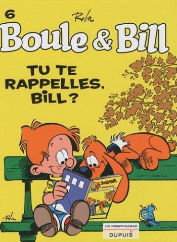 Couverture de l'album Boule & Bill (dès 2000) - 6. Tu te rappelles, Bill ?