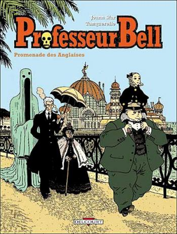 Couverture de l'album Professeur Bell - 4. Promenade des anglaises
