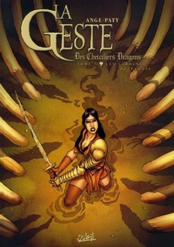 Couverture de l'album La Geste des Chevaliers Dragons - 5. Les jardins du palais