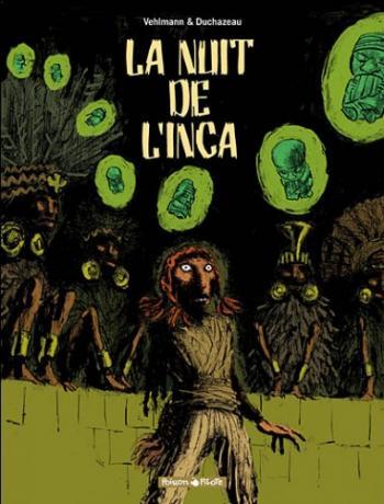 Couverture de l'album La nuit de l'Inca - INT. La nuit de l'Inca