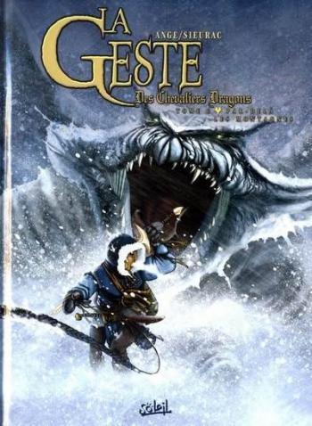 Couverture de l'album La Geste des Chevaliers Dragons - 6. Par-delà les montagnes