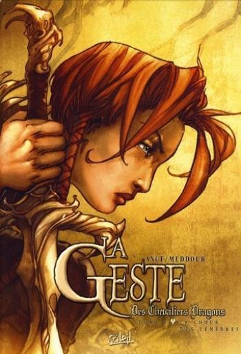 Couverture de l'album La Geste des Chevaliers Dragons - 8. Le choeur des ténèbres