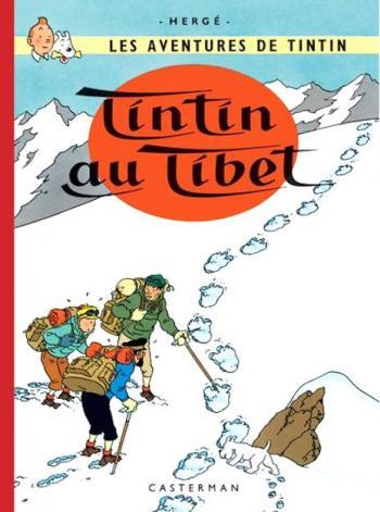 Couverture de l'album Les Aventures de Tintin (Petit format) - 20. Tintin au Tibet