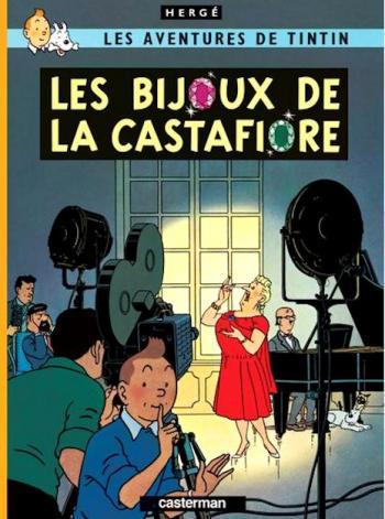 Couverture de l'album Les Aventures de Tintin (Petit format) - 21. Les bijoux de la Castafiore