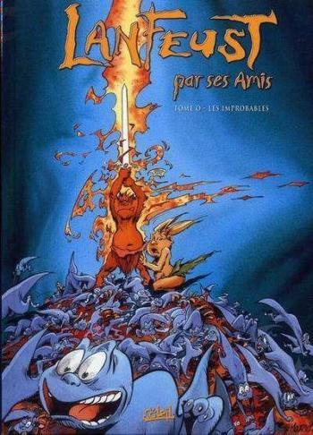 Couverture de l'album Lanfeust par ses Amis (One-shot)