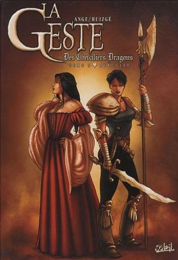 Couverture de l'album La Geste des Chevaliers Dragons - 9. Aveugles