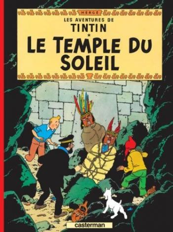 Couverture de l'album Les Aventures de Tintin (Petit format) - 14. Le Temple du soleil