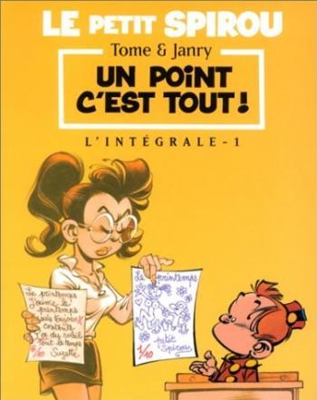 Couverture de l'album Le Petit Spirou - INT. Un point c'est tout !