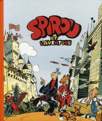 Couverture de l'album Spirou et Fantasio - HS. Spirou et l'aventure