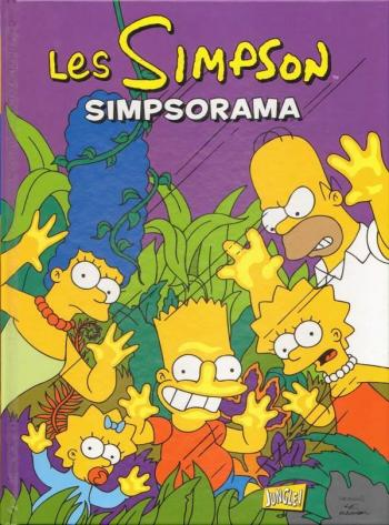 Couverture de l'album Les Simpson (Jungle) - 15. Simpsorama