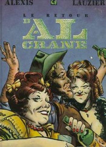 Couverture de l'album Les Aventures d'Al Crane - 2. Le Retour d'Al Crane