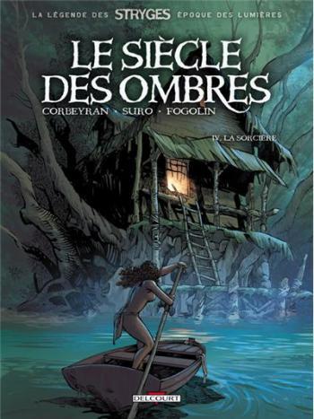 Couverture de l'album Le Siècle des ombres - 4. La Sorcière