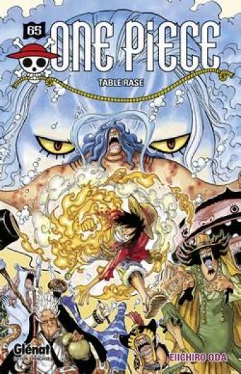 Couverture de l'album One Piece - 65. Table rase