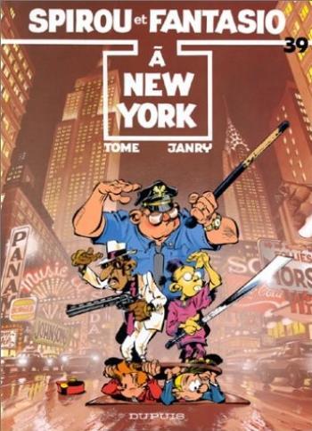 Couverture de l'album Spirou et Fantasio - 39. Spirou à New York