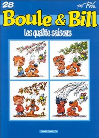 Couverture de l'album Boule & Bill (dès 2000) - 28. Les Quatre Saisons