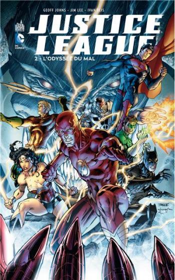 Couverture de l'album Justice League - 2. L'Odyssée du mal