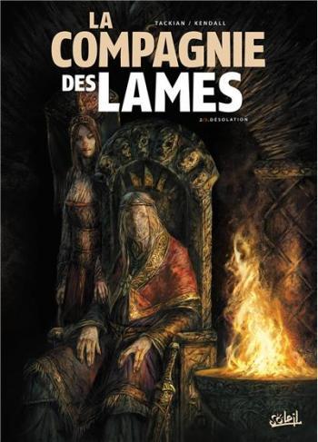 Couverture de l'album La compagnie des lames - 2. Désolation