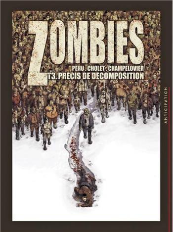 Couverture de l'album Zombies - 3. Précis de décomposition