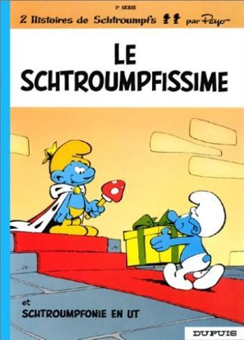 Couverture de l'album Les Schtroumpfs - 2. Le Schtroumpfissime