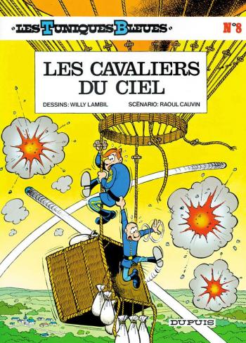 Couverture de l'album Les Tuniques bleues - 8. Les Cavaliers du ciel