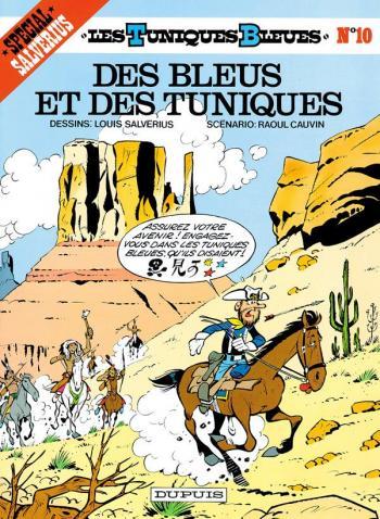 Couverture de l'album Les Tuniques bleues - 10. Des bleus et des tuniques
