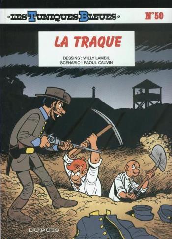 Couverture de l'album Les Tuniques bleues - 50. La Traque