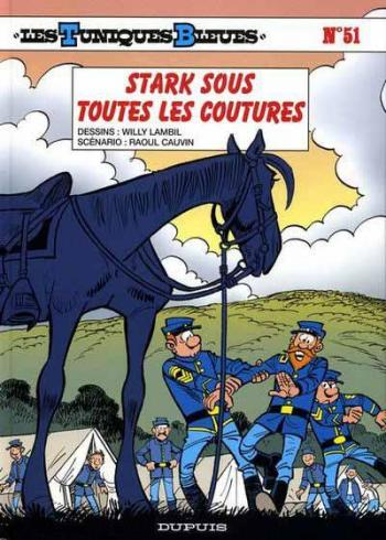 Couverture de l'album Les Tuniques bleues - 51. Stark sous toutes les coutures