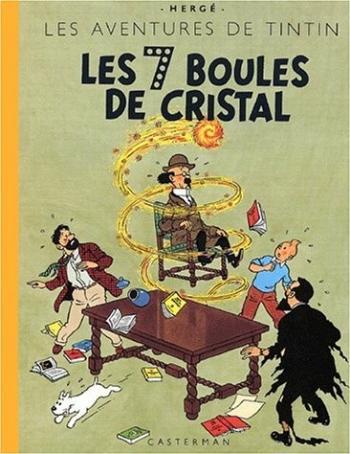 Couverture de l'album Les Aventures de Tintin - 13. Les 7 boules de cristal