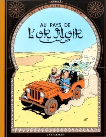 Couverture de l'album Les Aventures de Tintin - 15. Tintin au pays de l'or noir