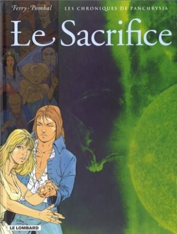 Couverture de l'album Les Chroniques de Panchrysia - 5. Le Sacrifice