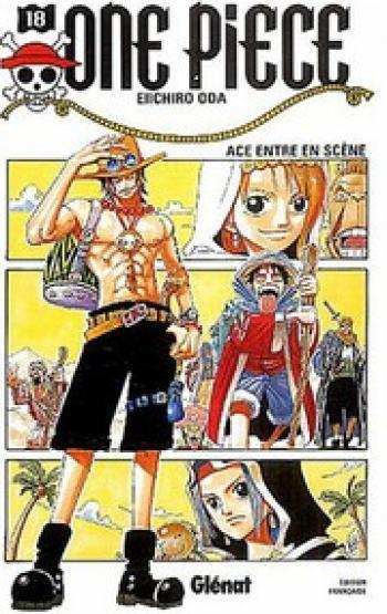 Couverture de l'album One Piece - 18. Ace entre en scène