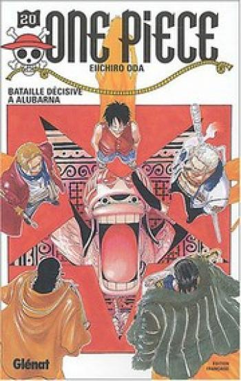 Couverture de l'album One Piece - 20. Bataille décisive à Alubarna