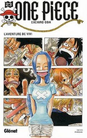 Couverture de l'album One Piece - 23. L'aventure de Vivi