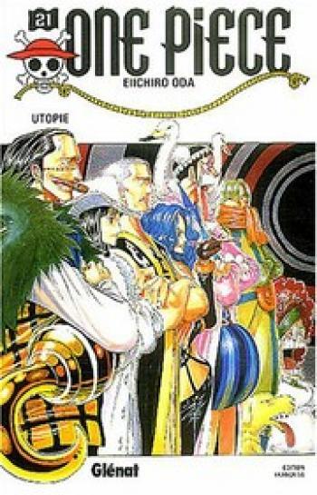Couverture de l'album One Piece - 21. Utopie
