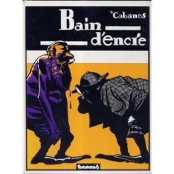 Couverture de l'album Bain d'encre (One-shot)