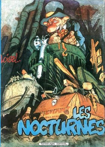 Couverture de l'album Les nocturnes (One-shot)