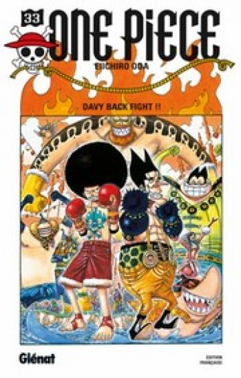 Couverture de l'album One Piece - 33. Davy back fight !!