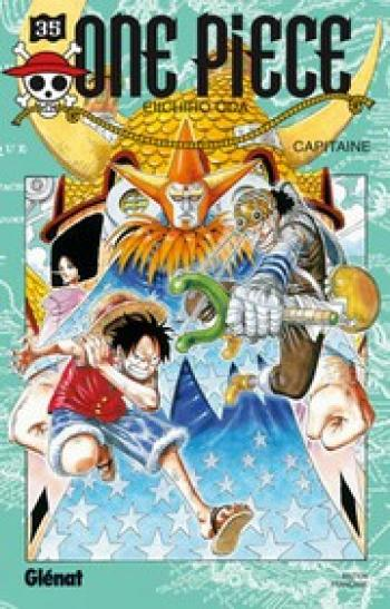 Couverture de l'album One Piece - 35. Capitaine