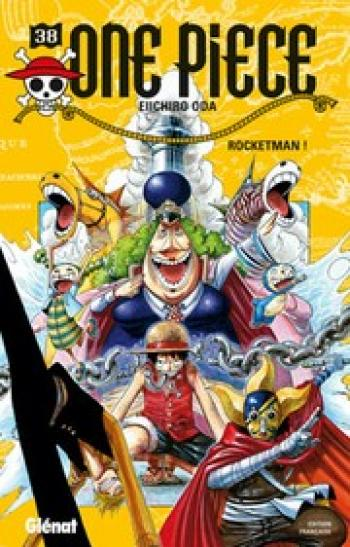 Couverture de l'album One Piece - 38. Rocketman !