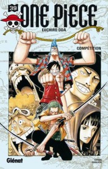 Couverture de l'album One Piece - 39. Compétition