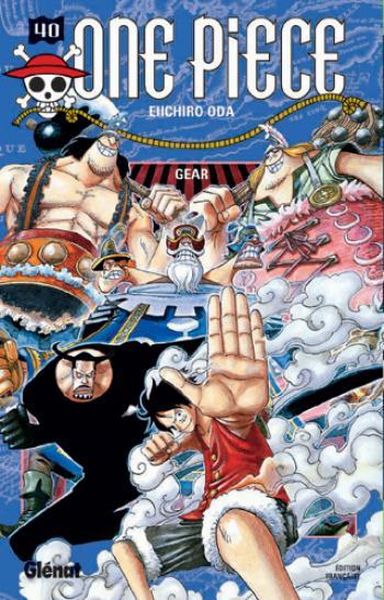 Couverture de l'album One Piece - 40. Gear