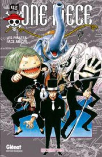 Couverture de l'album One Piece - 42. Les pirates face au CP9
