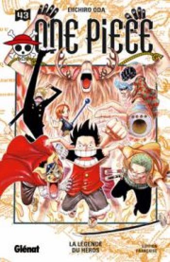 Couverture de l'album One Piece - 43. La légende du héros